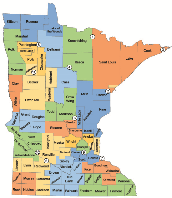 Minnesota - By Partnership Action Community County idcom